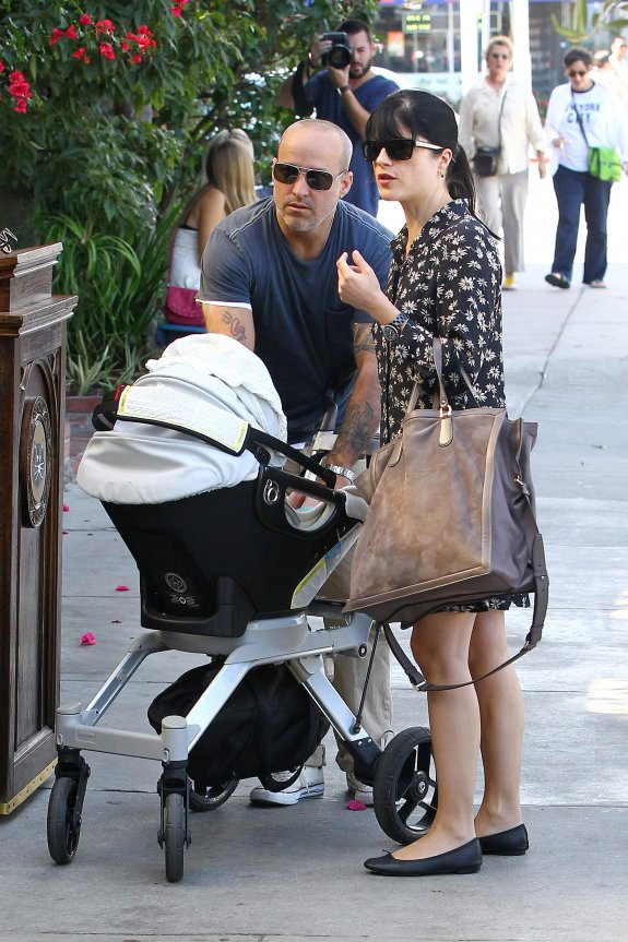 Selma Blair Sunday Lunch With Her Boys