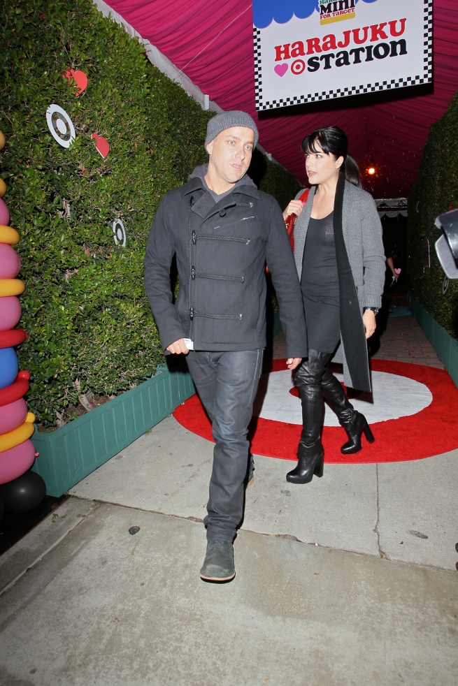 Selma Blair & Jason Bleick Arrive at Harajuku Mini Launch Party