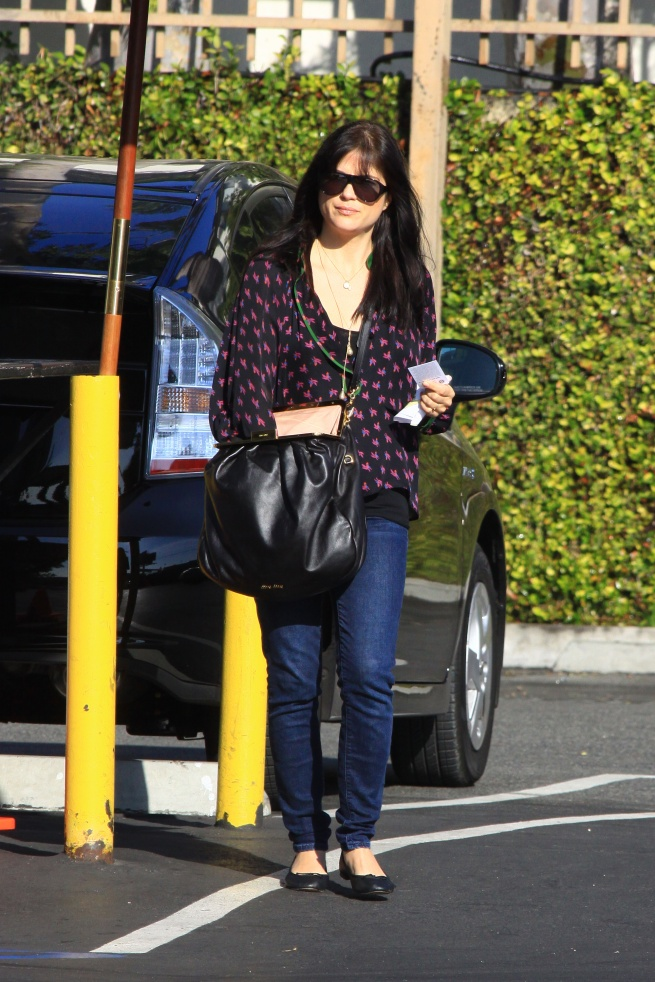 Selma Blair Carries Miu Miu