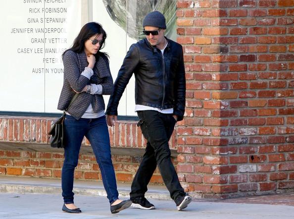 Selma Blair & Jason Bleick Beverly Hills Stroll