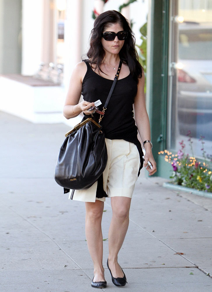 Selma Blair Feeds The Meter With Style