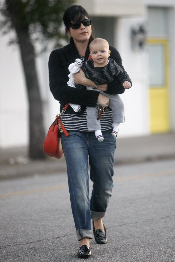 Selma Blair & Smiling Saint