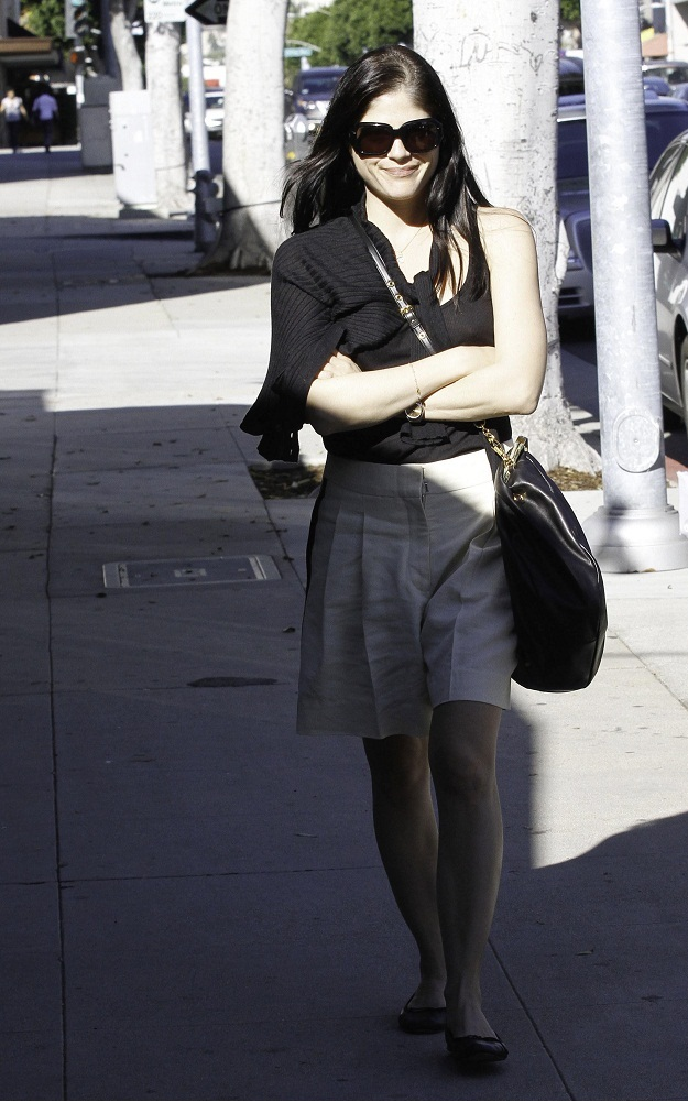 Selma Blair Feeds The Meter In West Hollywood