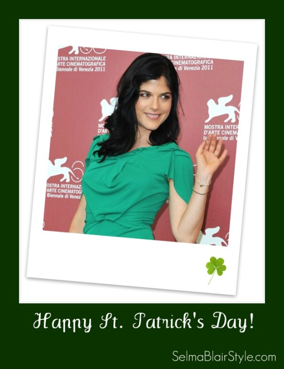 Happy St. Patrick's Day From SelmaBlairStyle.com