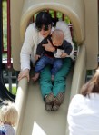 Selma Blair & Arthur Saint Playtime At The Park