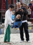 Selma Blair & Arthur Saint Playtime At The Park 56