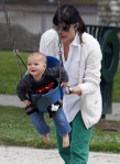 Selma Blair & Arthur Saint Playtime At The Park 66