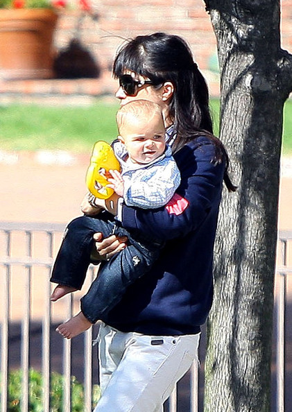 Selma Blair & Baby Saint Sunday Funday