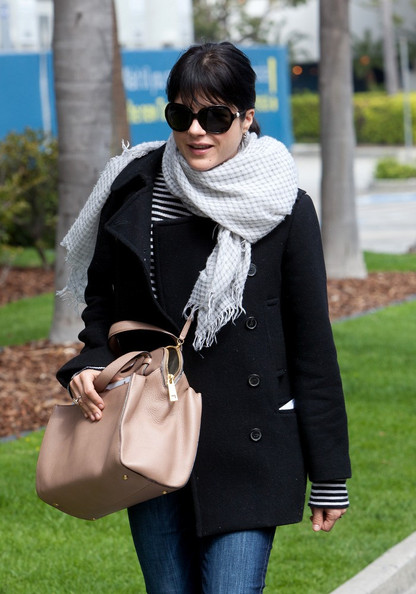 Selma Blair Leaving LAX