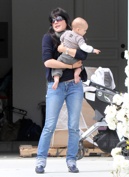 Selma Blair & Arthur Saint Baby's Day Out