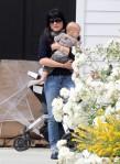 Selma Blair & Arthur Saint Baby's Day Out