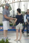 Selma Blair at the National Memorial Day Concert rehearsals