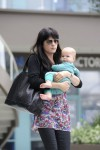 Selma Blair & Baby Arthur Hit The Gym 13
