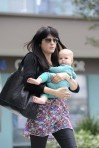 Selma Blair & Baby Arthur Hit The Gym 14