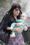 Selma Blair & Baby Arthur Hit The Gym 15