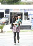 Selma Blair & Baby Arthur Hit The Gym 2