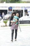 Selma Blair & Baby Arthur Hit The Gym 4
