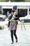 Selma Blair & Baby Arthur Hit The Gym 5