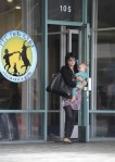 Selma Blair & Baby Arthur Hit The Gym 6
