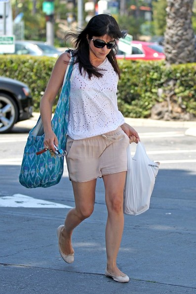 Selma Blair Out & About In WeHo
