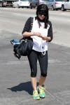 Selma Blair Preps For Her Boxing Workout