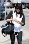 Selma Blair Preps For Her Boxing Workout 2