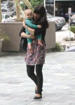 Selma Blair Wearing Lovers + Friends Ditsy Floral Weekend Tunic 23