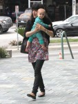 Selma Blair Wearing Lovers + Friends Ditsy Floral Weekend Tunic 25