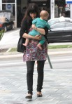 Selma Blair Wearing Lovers + Friends Ditsy Floral Weekend Tunic 26