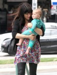 Selma Blair Wearing Lovers + Friends Ditsy Floral Weekend Tunic