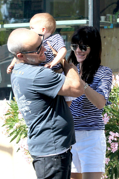 Selma Blair & Her Birthday Boy