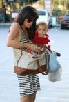 Selma Blair In Seaton Surf Stripes