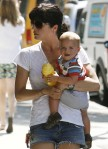 Selma Blair & Son Arthur Visit Petting Zoo
