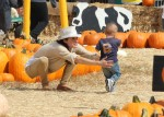 Selma Blair & Arthur Saint Pumpkin Patch 16