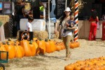 Selma Blair & Son Arthur Pumpkin Patch Fun 11