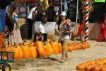 Selma Blair & Son Arthur Pumpkin Patch Fun 12