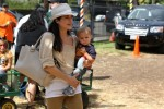 Selma Blair & Son Arthur Pumpkin Patch Fun 15