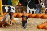 Selma Blair & Son Arthur Pumpkin Patch Fun 4