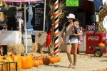 Selma Blair & Son Arthur Pumpkin Patch Fun 7