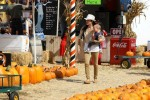 Selma Blair & Son Arthur Pumpkin Patch Fun 8