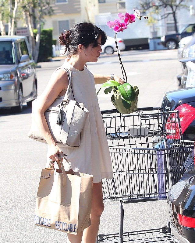 Selma Blair Stops At Bristol Farms 17