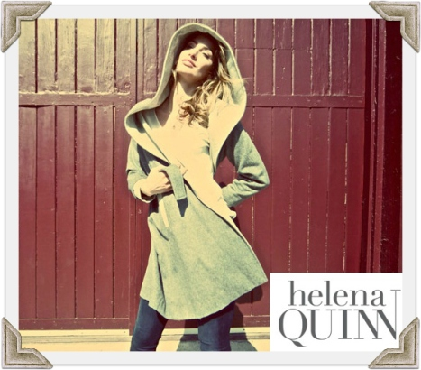 Julia Swing Coat by Helena Quinn