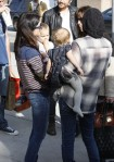 Selma Blair & Arthur Saint Farmers Market Fun 1