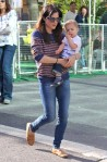 Selma Blair & Arthur Saint Farmers Market Fun 12