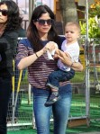 Selma Blair & Arthur Saint Farmers Market Fun 13