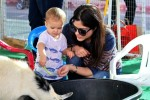 Selma Blair & Arthur Saint Farmers Market Fun 16
