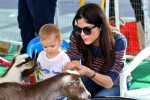 Selma Blair & Arthur Saint Farmers Market Fun 17