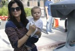 Selma Blair & Arthur Saint Farmers Market Fun 2