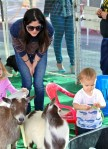 Selma Blair & Arthur Saint Farmers Market Fun 21