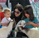Selma Blair & Arthur Saint Farmers Market Fun 24